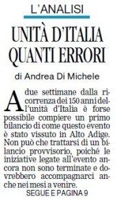 2011.04.03 Alto Adige - Bessone Massimo -Pag 1