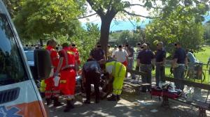 2014.06.15 Bolzano - Rissa tra stranieri - Foto Massimo Bessone (6)